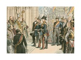 Frederick William IV, King of Prussia Giclee Print by Carl Rohling