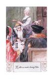 Told Us Manie Strange Tales Giclee Print by Charles Edmund Brock
