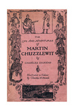 The Life and Adventures of Martin Chuzzlewit by Charles Dickens, Front Cover Giclee Print by Charles Edmund Brock