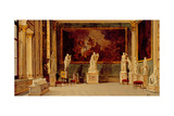 Sculpture Gallery at the Pitti Palace, Florence Giclee Print by Antonietta Brandeis
