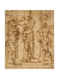 The Flagellation Giclee Print by Baccio Bandinelli