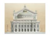 Opera Garnier, Paris, France, 1990 Giclee Print by Andras Kaldor