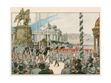 Wilhelm II, German Emperor and King of Prussia Giclee Print by Carl Rohling