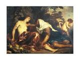 Vertumnus and Pomona Giclée-Druck von Anthony Van Dyck