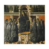 Saint Monica Giclée-tryk af Andrea del Verrocchio