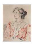 Portrait of Mrs. Limond, 1899 Giclee Print by Augustus Edwin John