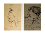 Two Pictures, 'Ballade' Giclee Print by Alfred de Musset