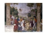 Baptism of Valerian, 1506 Giclee Print by Amico Aspertini