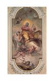 Glory of St Isidorus Giclee Print by Carle van Loo