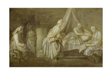 Stories of St John Giclee Print by Andrea del Sarto