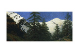 High Mountains, 1912 Giclee Print by Angelo Morbelli