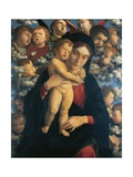 Madonna of Cherubim Giclee Print by Andrea Mantegna