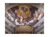 Christ in Glory, Fresco Giclee Print by Boccaccio Boccaccino