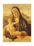 Madonna and Child Seated Giclee Print by Bartolomeo Montagna