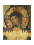 Christ's Face, Detail from Crucifix, 1187 Giclee Print by Alberto Sotio