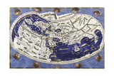World Map According to Ptolemy's Views Giclee Print