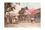 At Kitano Tenjin Giclee Print by Ella Du Cane