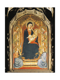 Madonna with Child and Angels Giclee Print by Bernardo Daddi