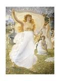 Castalidi, 1905 Giclee Print by Adolfo de Carolis