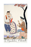 Paternal Blessing Giclee Print by Georges Barbier