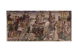 Triumph of Venus, Month of April, Circa 1470 Giclee Print by Francesco del Cossa