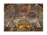 Frescoes Giclee Print by Francesco de Mura