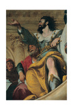 The Parable of the Wedding Guest Giclee Print by Bernardo Strozzi