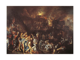 The Burning of Troy, C. 1604 Giclee Print by Adam Elsheimer