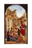 The Adoration of the Magi Giclée-Druck von Bartolomeo Vivarini