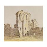 Monastery Ruins Giclee Print by Caspar David Friedrich