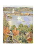 North Harbor, Helsinki, Finland 19th Century Detail Giclee Print by Akseli Gallen-Kallela