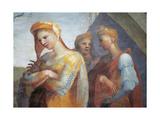 Meeting at the Golden Gate Giclée-tryk af Domenico Beccafumi