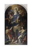 Sant'Amedeo and St Louis Giclee Print by Francesco Trevisani