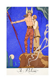 The Return Giclee Print by Georges Barbier