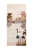 The Storks Giclee Print by Ella Du Cane