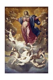Assumption of Virgin Giclee Print by Domenico Fiasella