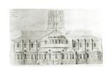 Basilica of St. Sernin, Toulouse Giclée-Druck von Eugene Emmanuel Viollet-le-Duc