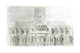 Basilica of St. Sernin, Toulouse Giclee Print by Eugene Emmanuel Viollet-le-Duc