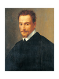 Portrait of a Gentleman Giclée-tryk af Francesco De Rossi Salviati Cecchino
