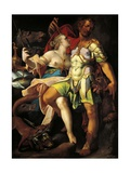 Odysseus and Circe Giclee Print by Bartholomaeus Spranger