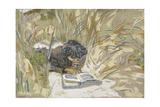 Woman Reading, C.1909 Giclée-Druck von Edouard Vuillard