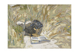 Woman Reading, C.1909 Giclee Print by Edouard Vuillard