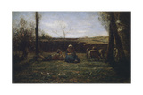 Idyll, 1865 Giclee Print by Antonio Fontanesi