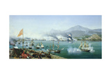 The Battle of Navarino, 20 October 1827 Giclee Print by Ambroise-Louis Garneray