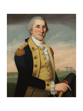 George Washington at Princeton Giclee Print by Charles Peale Polk