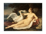 Leda and Swan Giclee Print by Cesare Mussini