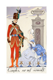 Count on My Oaths Giclee Print by Georges Barbier