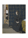 Seated Woman with a Cup of Coffee, 1893 Giclee Print by Edouard Vuillard