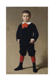 Portrait of Henri Achille, the Artist's Son, 1881 Giclee Print by Achille Zo