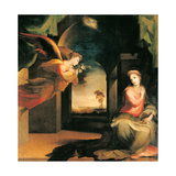 The Annunciation, 1546 Giclee Print by Domenico Beccafumi